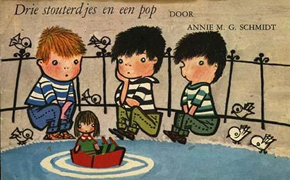 Drie stouterdjes en een pop