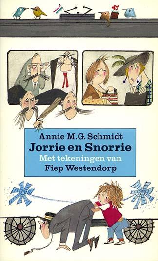 Jorrie en Snorrie, pocket