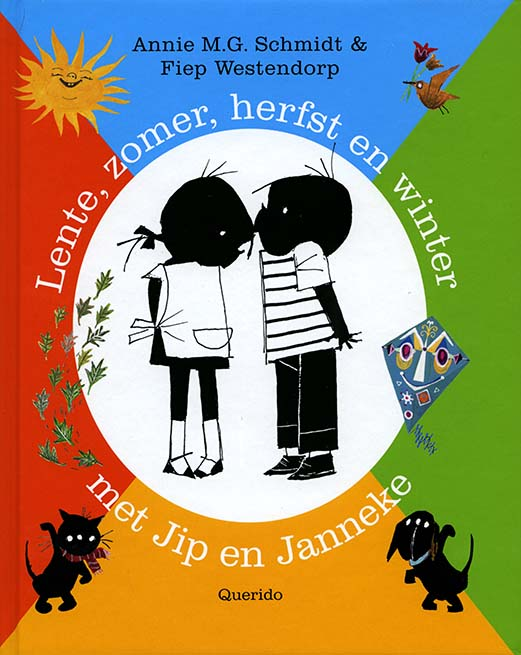 Lente zomer herfst en winter met Jip en Janneke
